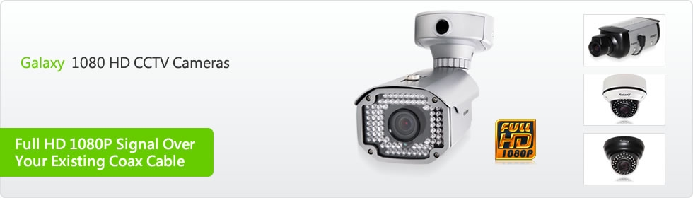Galaxy 1080 HD CCTV Cameras